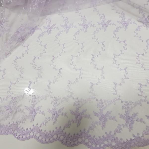сетка с вышивкой