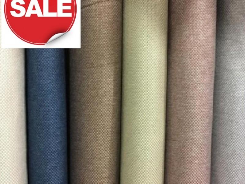 Грандиозная распродажа тканей для штор