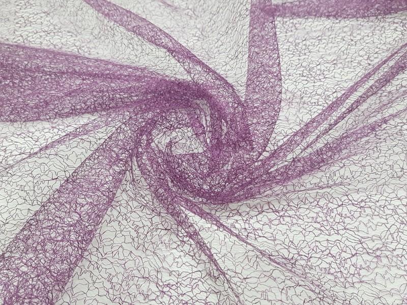 Сетка паутинка, цвет фиолетовый, высота 2.95 метра
