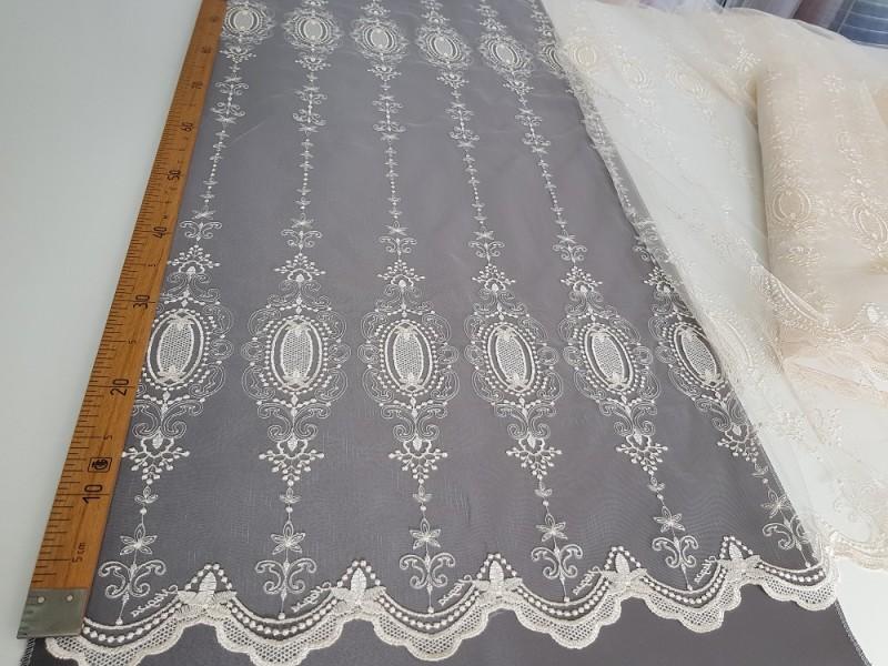 Сетка вышивка, остаток 5.0 метров
