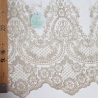 Сетка вышивка, остаток 5.1; 3.4 м.