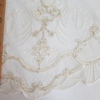 Сетка вышивка, остаток 2.5; 1.2 метра