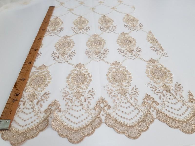 Сетка вышивка Купон, остаток 5; 13.5 метров