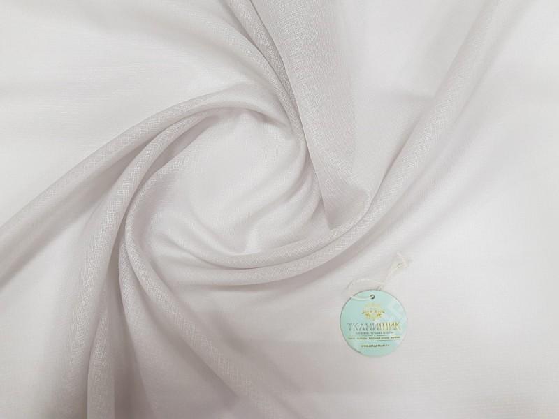 Тюль однотонная Кристалон, цвет серый