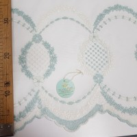 Сетка вышивка Соты