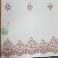 Сетка вышивка соты, остаток 5 метров