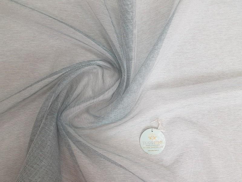 Сетка меланж, цвет серо-бирюзовый