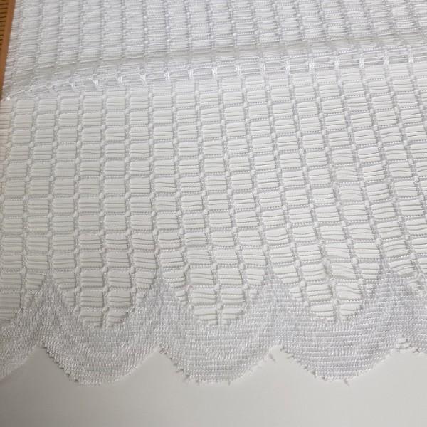 Сетка белая, готовая штора: ширина 4.5 м., высота 2.5 м.