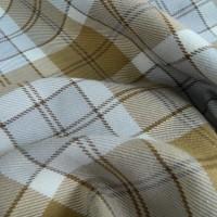 Ткань Клетка (Англия), цвет кофейный, ширина 1.6 м.