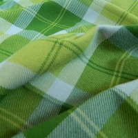 Ткань Клетка (Англия), цвет зеленый, желтый, ширина 1.6 м.